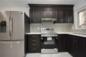 Fully Renovated 4 B/R Condo T/H With Fin Bsm Near Bramalea City