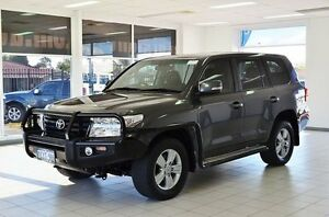 2013 Toyota Landcruiser VDJ200R MY12 Altitude (4x4) Graphite 6 Speed Automatic Wagon Morley Bayswater Area Preview