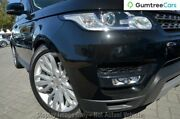 2015 Land Rover Range Rover Sport L494 16MY TdV6 CommandShift SE Black 8 Speed Sports Automatic Osborne Park Stirling Area Preview