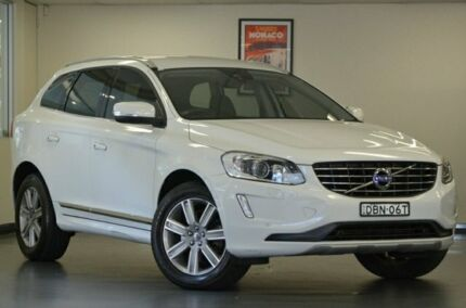 2015 Volvo XC60 DZ MY16 D4 Geartronic AWD Luxury White 6 Speed Sports Automatic Wagon Chatswood Willoughby Area Preview