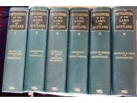 Complete Set of Encyclopedia of the Laws of Scotland