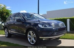 2016 Volkswagen Touareg 7P MY16 V8 TDI Tiptronic 4MOTION R-Line Blue 8 Speed Sports Automatic Wagon Invermay Launceston Area Preview