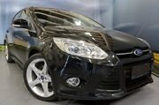 2014 Ford Focus LW MKII Titanium PwrShift Black 6 Speed Sports Automatic Dual Clutch Hatchback Elizabeth Playford Area Preview