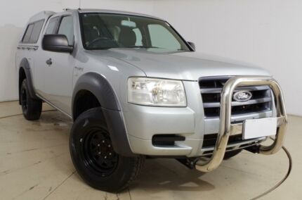 2008 Ford Ranger PJ XL Super Cab Silver Metallic 5 Speed Manual Utility Gepps Cross Port Adelaide Area Preview