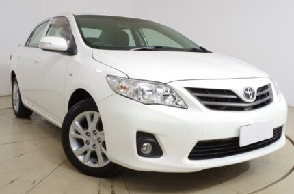 2012 Toyota Corolla ZRE152R MY11 Ascent Sport White 4 Speed Automatic Sedan Gepps Cross Port Adelaide Area Preview