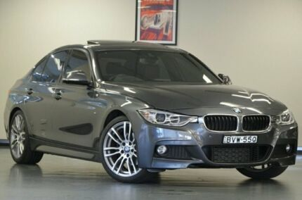 2015 BMW 320d F30 MY1114 M Sport Mineral Grey 8 Speed Sports Automatic Sedan Chatswood Willoughby Area Preview
