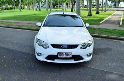 2010 Ford Falcon FG XR6 Ute Super Cab 50th Anniversary White 6 Speed Sports Automatic Utility Rockhampton Rockhampton City Preview