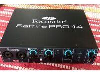 Focusrite SAFFIRE PRO 14 FIREWIRE Audio/Midi Interface - Boxed