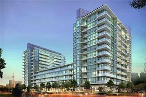 Queensway / Islington Modern IQ Condo 1 Bedrm + Den Immed / Apr1