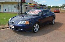 2004 Hyundai Tiburon GK V6 Blue 6 Speed Manual Coupe Berrimah Darwin City Preview