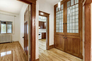 Renovated upper duplex for rent in the Monkland Village