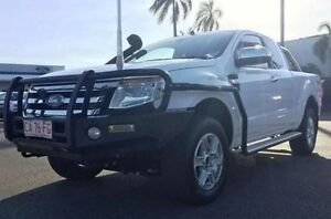 2013 Ford Ranger PX XLT Super Cab White 6 Speed Manual Utility Berrimah Darwin City Preview