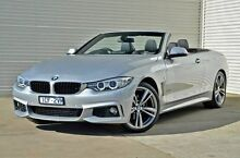 2014 BMW 420d F33 M Sport Silver 8 Speed Sports Automatic Convertible Mitchell Park Ballarat City Preview