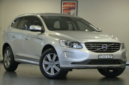 2015 Volvo XC60 DZ MY16 D4 Geartronic AWD Luxury Silver 6 Speed Sports Automatic Wagon Chatswood Willoughby Area Preview