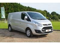 2014 64 FORD TRANSIT CUSTOM 2.2 TDCI 125PS 290 L2 H1 LIMITED LONG WHEEL BASE
