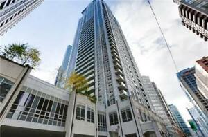 LARGE 1+DEN CONDO FOR RENT DOWNTOWN TORONTO @BAY & COLLEGE