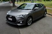 2015 Hyundai Veloster FS4 Series II SR Coupe D-CT Turbo Grey 7 Speed Sports Automatic Dual Clutch Rockhampton Rockhampton City Preview