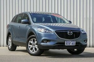 2014 Mazda CX-9 TB10A5 MY14 Classic Activematic Blue 6 Speed Sports Automatic Wagon Willetton Canning Area Preview