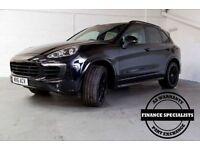 PORSCHE CAYENNE 4.1 D V8 S TIPTRONIC S 5d AUTO 385 BHP AA Warranti (black) 2016