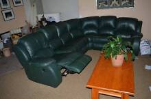 New Condition 7 Seater Leather Modular Couch (Was $4000) Greenwich Lane Cove Area Preview