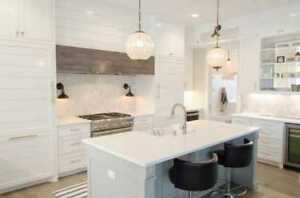 We manufacture Kitchen Cabinets & Countertops