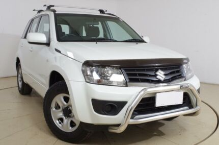2013 Suzuki Grand Vitara JB MY13 Urban 2WD Navigator White 4 Speed Automatic Wagon Tanunda Barossa Area Preview