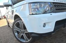 2011 Land Rover Range Rover Sport L320 12MY Super Charged CommandShift Fuji White 6 Speed Sports Aut Osborne Park Stirling Area Preview
