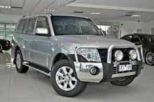 2010 Mitsubishi Pajero NT MY10 Activ Silver 5 Speed Auto Seq Sportshift Wagon Doveton Casey Area Preview