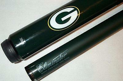 (NFL Green Bay PACKERS Billiard Pool Cue Stick w/ Case FREE SHIPPING)