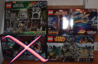 3 LEGO Ninja Turtles Star Wars Gardians of the Galaxy