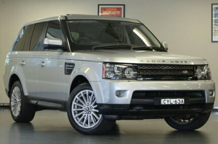 2012 Land Rover Range Rover Sport L320 12MY SDV6 CommandShift Silver 6 Speed Semi Auto Wagon Chatswood Willoughby Area Preview