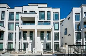 !! Brand New Large 2 Bed Townhome in Prime Etobicoke !!