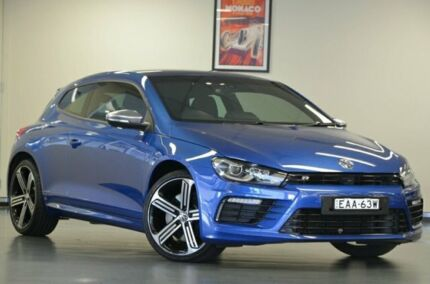 2014 Volkswagen Scirocco 1S MY15 R Coupe Rising Blue Manual Hatchback Chatswood Willoughby Area Preview