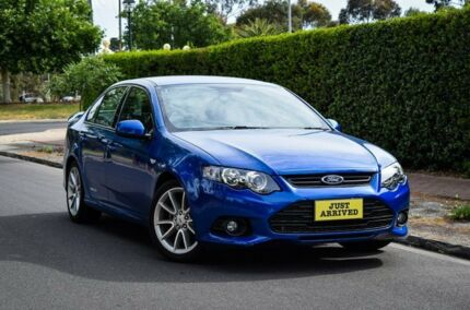2013 Ford Falcon FG MkII XR6 Blue 6 Speed Sports Automatic Sedan Medindie Walkerville Area Preview