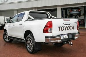 2015 Toyota Hilux GUN126R SR5 Double Cab White 6 Speed Sports Automatic Utility Westminster Stirling Area Preview