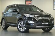 2015 Hyundai Santa Fe DM2 MY15 Highlander Phantom Black 6 Speed Sports Automatic Wagon Chatswood Willoughby Area Preview
