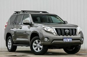 2014 Toyota Landcruiser Prado KDJ150R MY14 GXL Bronze 5 Speed Sports Automatic Wagon Willetton Canning Area Preview