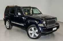 2012 Jeep Cherokee KK MY12 JET Blue 4 Speed Automatic Wagon Edgewater Joondalup Area Preview
