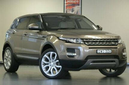 2014 Land Rover Range Rover Evoque L538 MY15 SD4 Pure Kaikokoura Stone 9 Speed Semi Auto Wagon Chatswood Willoughby Area Preview