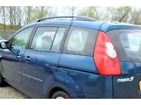 (((7 SEATER - LOW MILEAGE ))) MAZDA 5 SPORT *MPV*ESTATE*(PEOPLE CARRIER)*MOT- 31/05/18* EXCELLENT