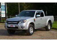 2010 60 FORD RANGER 2.5 TDCI 143 BHP THUNDER 4X4 SUPER CAB PICK UP TRUCK DIESEL