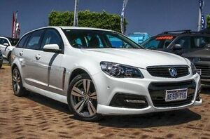 2015 Holden Commodore VF MY15 SV6 Sportwagon White 6 Speed Sports Automatic Wagon Embleton Bayswater Area Preview