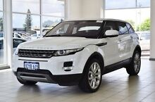 2013 Land Rover Evoque LV MY13 TD4 Pure White 6 Speed Automatic Wagon Morley Bayswater Area Preview
