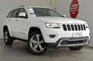 2014 Jeep Grand Cherokee WK MY15 Limited Bright White 8 Speed Sports Automatic Wagon Frankston Frankston Area Preview