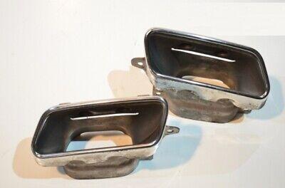 Original Mercedes Auspuffblende Satz  für GL X166 CL W216 SL R231 S W221 W222