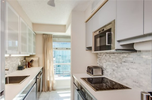 700+sq ft Boutique Condo in Financial District w/Parking!!