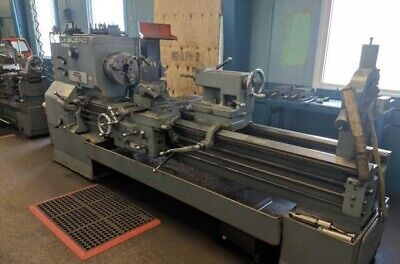 24 Leblond Regal Servo Shift Engine Lathe 2 Spindle Bore