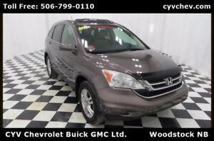 2011 Honda CR-V EX-L 4WD - Heated Leather, Sunroof & XM Radio