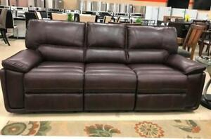 BRAMPTON LEATHER RECLINERS SALE (ND 39)