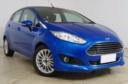 2015 Ford Fiesta WZ Sport Winning Blue 6 Speed Automatic Hatchback Gepps Cross Port Adelaide Area Preview
